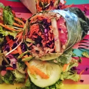 Vegan Raw Burrito from Chef Brooke's